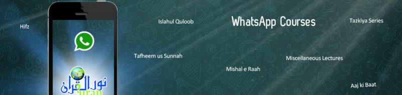 WhatsApp – NurulQuran